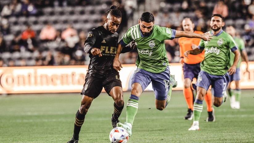 Seattle Sounders fall 3-0 to LAFC on Tuesday night
