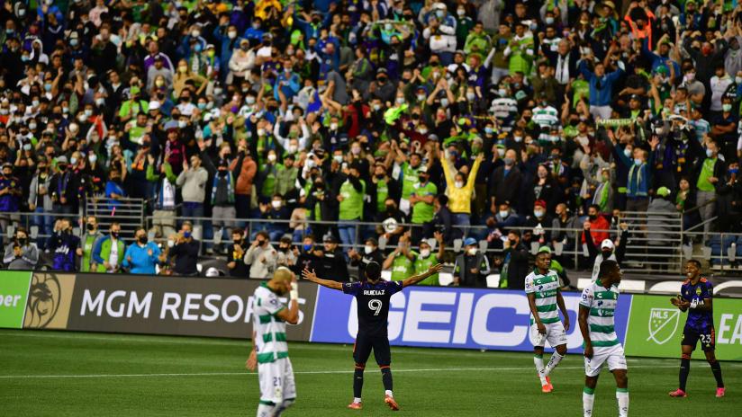 MATCH RECAP: Sounders FC advances to 2021 Leagues Cup Final with 1-0 win over Santos Laguna