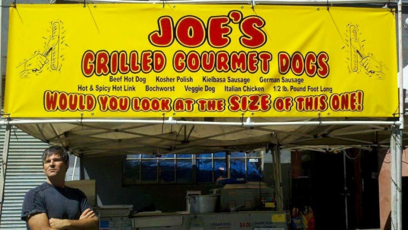 Joe's Hot Dog Stand