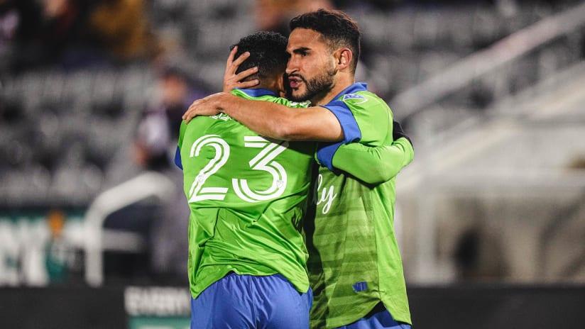 GOAL: Léo Chú sets up Cristian Roldan for the equalizer