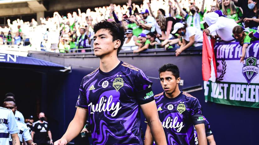 Homegrown midfielder Josh Atencio discusses Sounders development pathway, breakout season with Soccer America