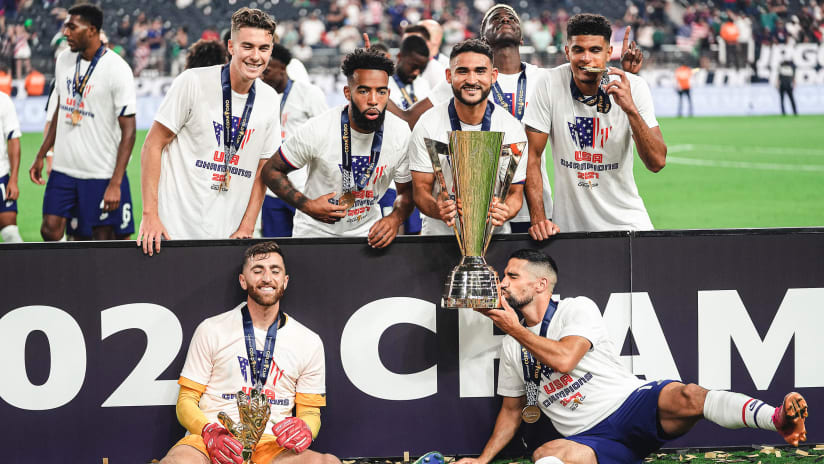 Cristian Roldan and USMNT beat Mexico to win 2021 Concacaf Gold Cup