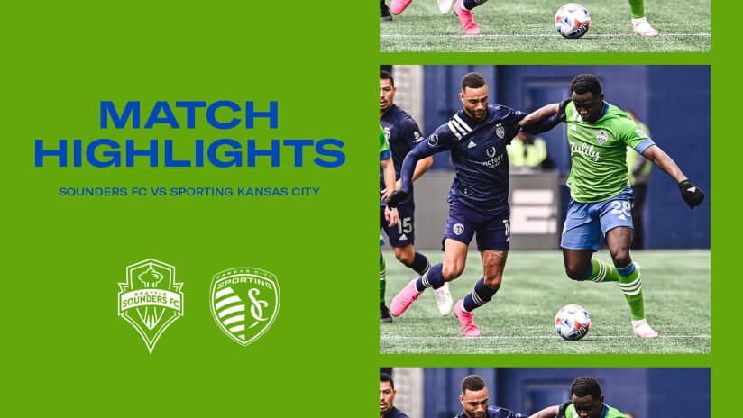 HIGHLIGHTS: Seattle Sounders FC vs. Sporting Kansas City | October 23, 2021