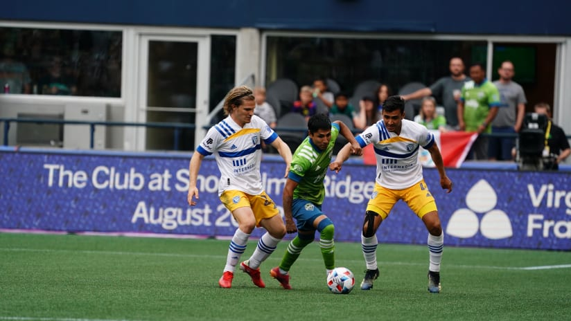 MATCH RECAP: Sounders FC falls for the second time in as many matches following 1-0 loss to San Jose