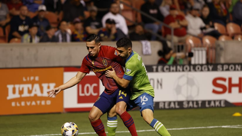 MATCH RECAP: Sounders FC suffers 1-0 road loss Saturday evening to Real Salt Lake