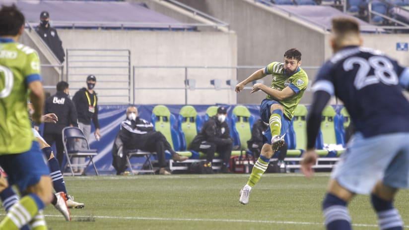 João Paulo goal vs. Vancouver Whitecaps 2020-10-04