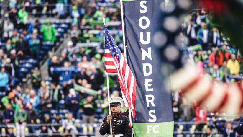 Sounders FC observes remembrance of 9/11 this Saturday
