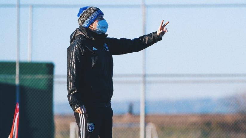 Coach Erin Ridley