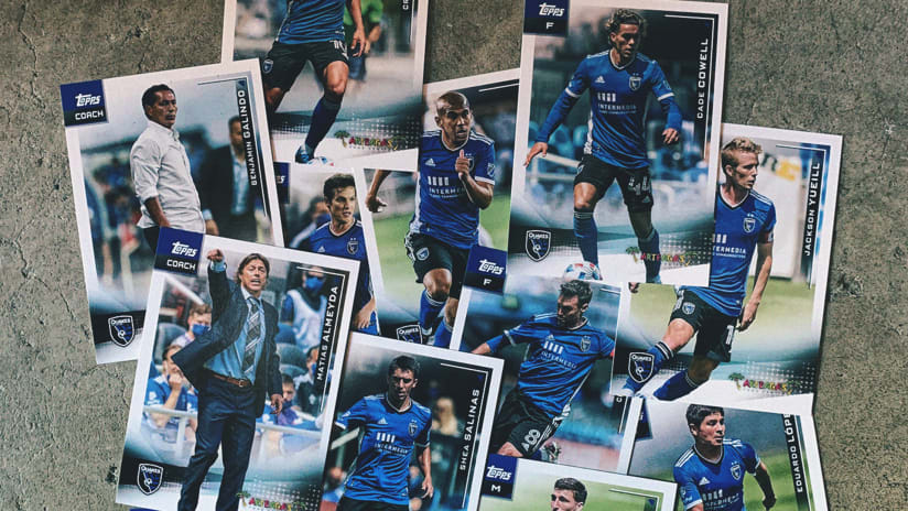 NEWS: Quakes, Arteagas partner to launch trading cards available at Bay Area stores