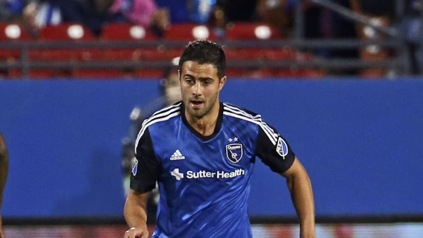 Andres Imperiale Action Shot 2016 San Jose Earthquakes