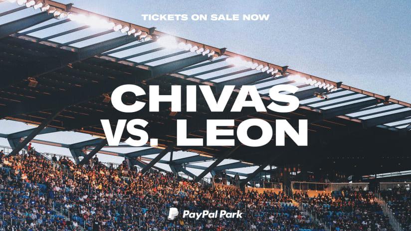 NOTICIAS: Horario cambiado para Chivas vs. Club León en PayPal Park