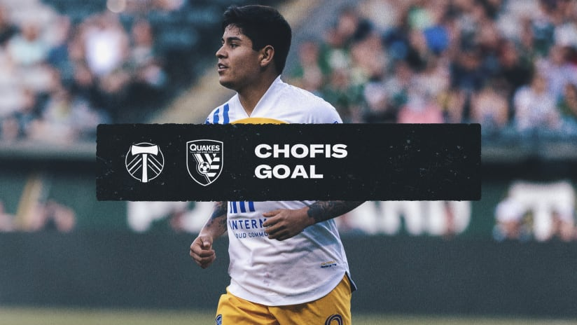 GOAL: Chofis tallies his fourth goal of the season