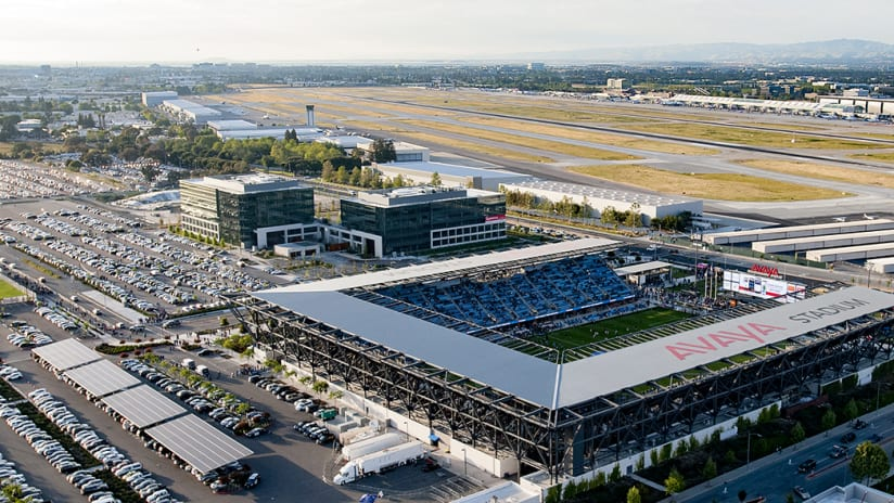 avaya stadium aerial