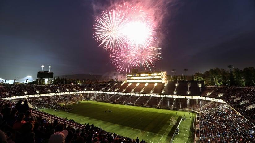 Cali Clasico - Fireworks - Stanford - 2018