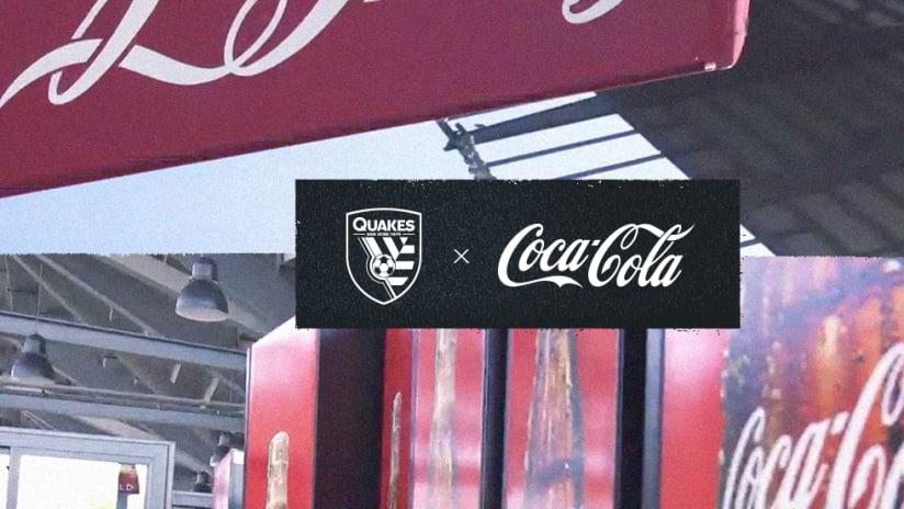 Quakes - Coke - Coca Cola - 2021 - Partnership