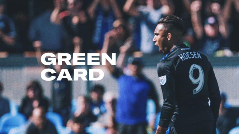 Danny Hoesen - Green Card - 2019
