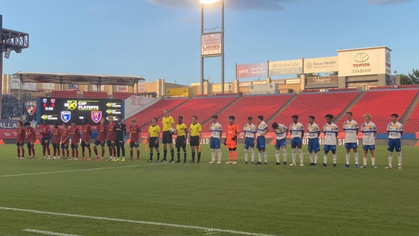 ACADEMY: Earthquakes U-15s eliminated from MLS NEXT Tournament