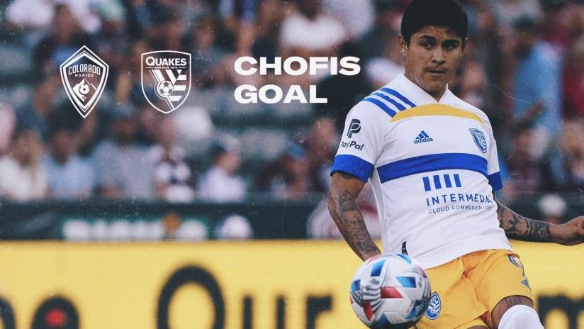 GOAL: Eduardo 'Chofis' López scores in the 11th minute