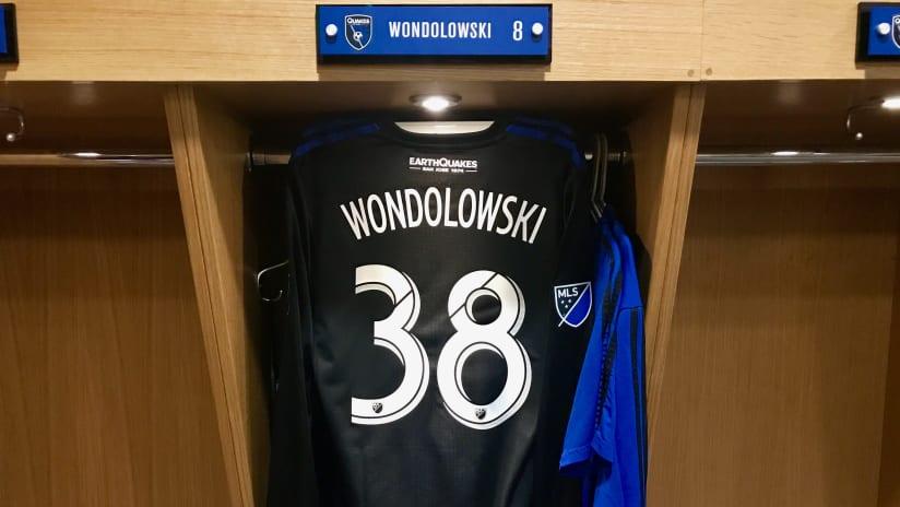 Chris Wondolowski - 38 Jersey - Matheus Silva - 071017