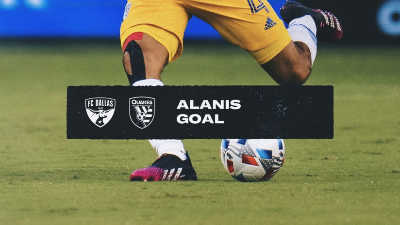 GOAL: Oswaldo Alanis scores in the 6th minute