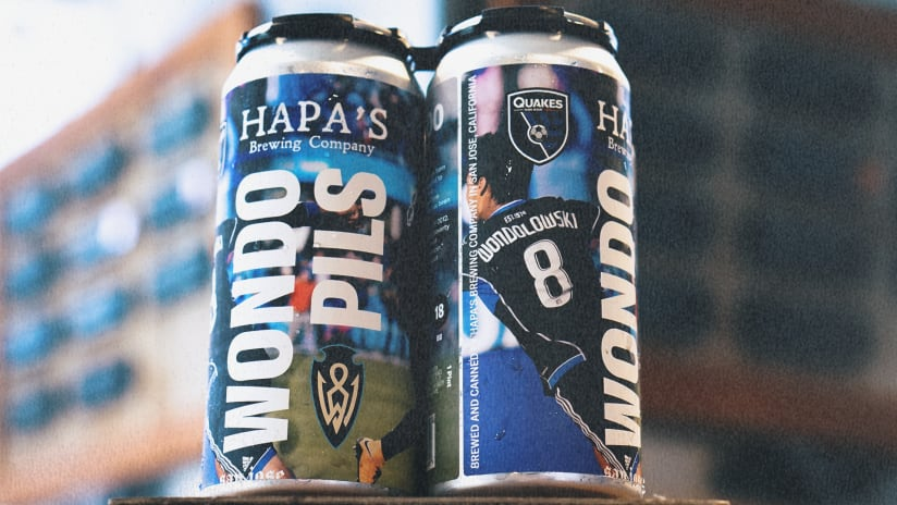 NEWS: Earthquakes, Hapa's Brewing Company to Unveil Wondo Pilsner on July 27