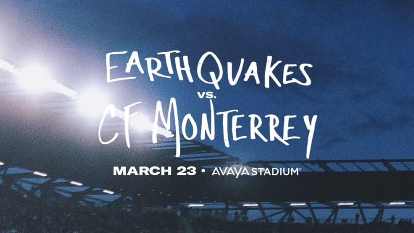 Quakes - CF Monterrey - 2019 - Avaya Stadium