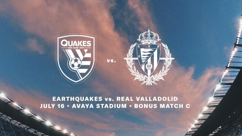 Quakes vs Vallodolid