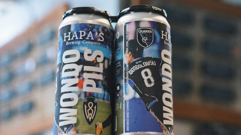 NEWS: Earthquakes to unveil 2001 Championship Mural at Hapa's Brewing Oct. 21
