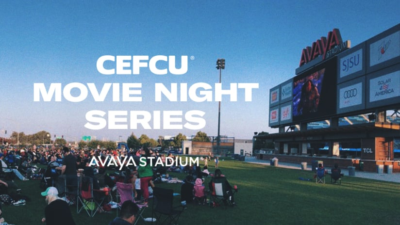 CEFCU - Movie Night Series - 2019 - Avaya Stadium