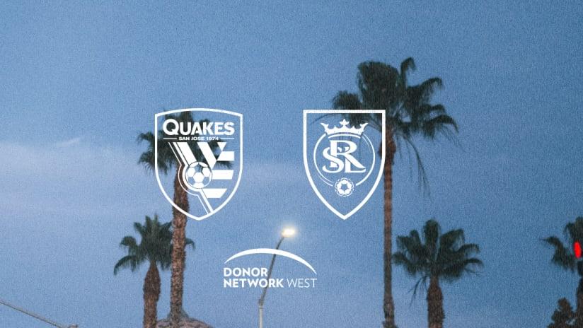 MATCH GUIDE: Quakes vs. RSL | September 15, 2021