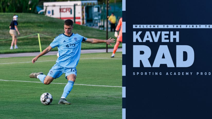 Sporting KC signs Kaveh Rad - April 5, 2021