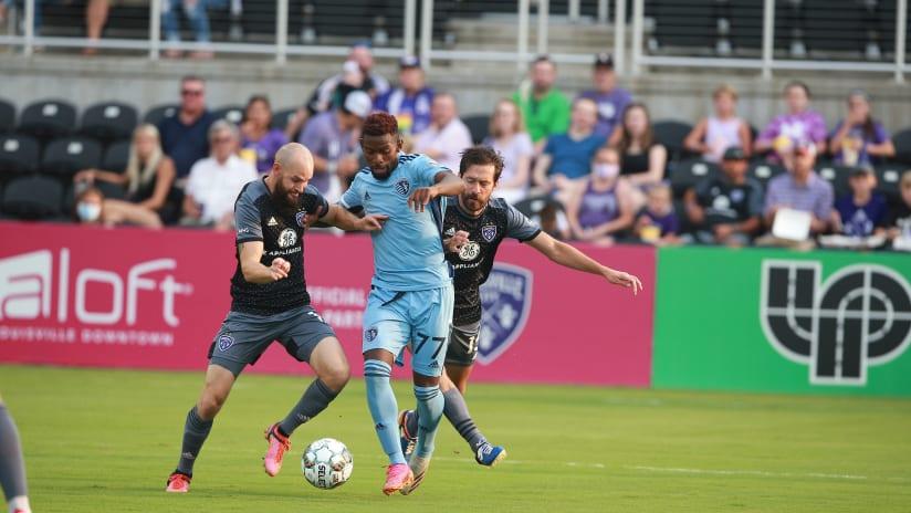 Enoch Mushagalusa - Sporting KC II at Louisville City FC