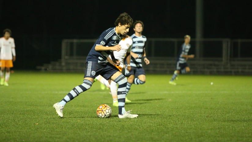 Max Rugova - Sporting KC Academy U-16s