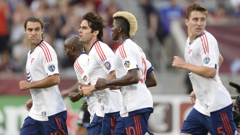 Besler and Zusi - MLS All-Star Game - July 29, 2015
