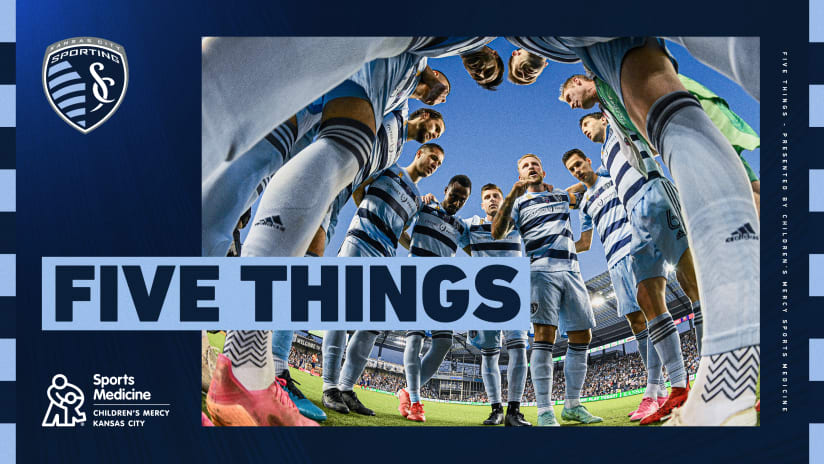 Five Things presented by Children's Mercy Sports Medicine Center: #SKCvSEA   Sept. 26, 2021