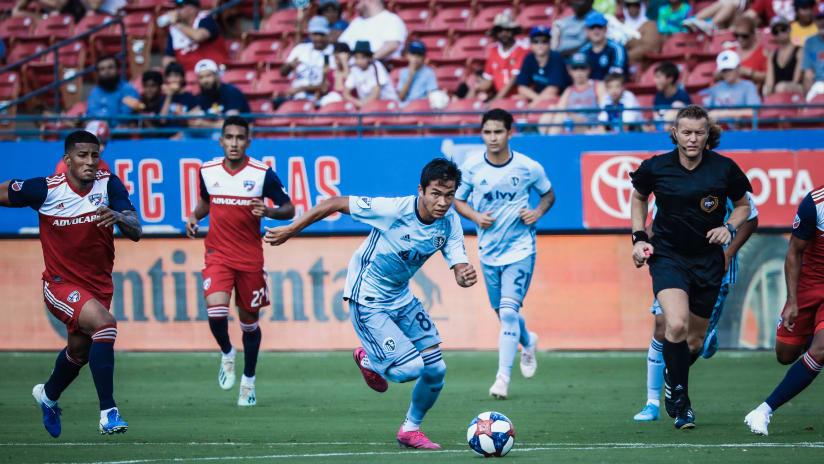 Felipe Hernandez - Sporting KC at FC Dallas - Oct. 6, 2019