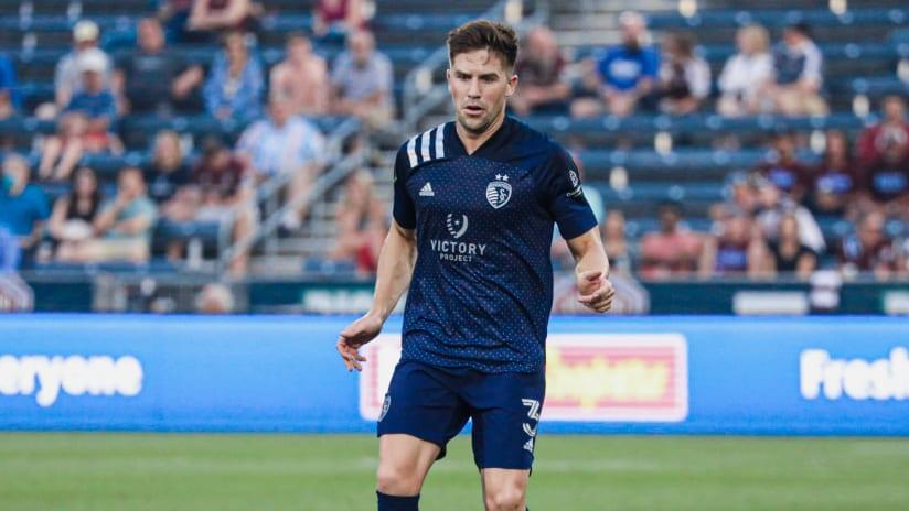 Andreu Fontas - Sporting KC at Colorado Rapids - Aug. 7, 2021