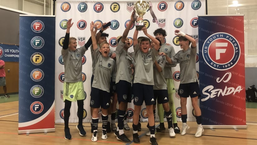Sporting KC Academy U-14s crowned US Youth Futsal National Champions