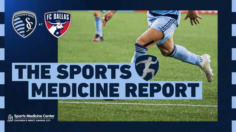 Sports Medicine Report - Aug. 14, 2021