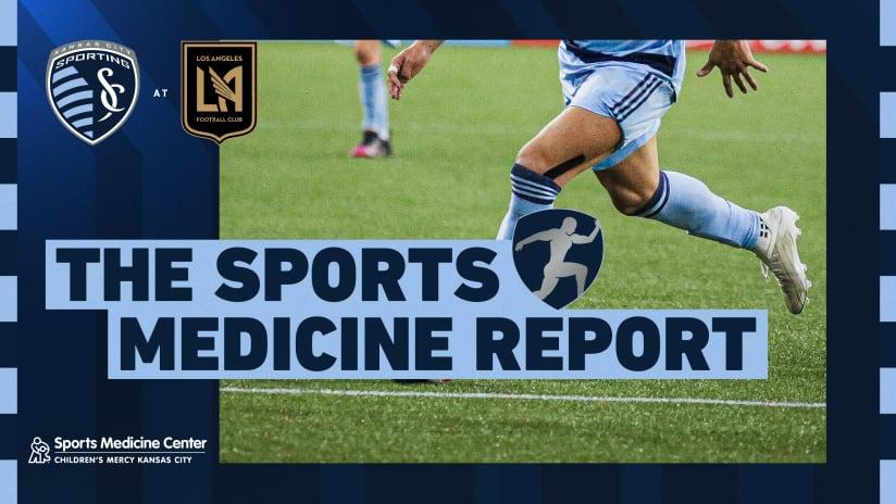 Sports Medicine Report - Sept. 3, 2021