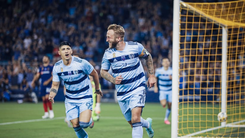Johnny Russell: Sporting has all ingredients to win MLS Cup