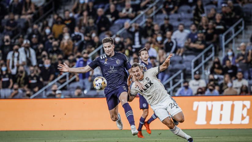 Andreu Fontas - Sporting KC at LAFC - Sept. 3, 2021