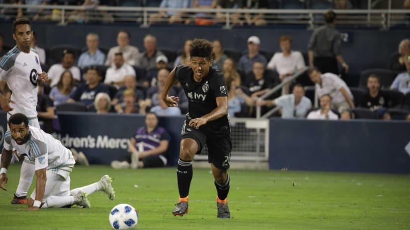 Jaylin Lindsey - Sporting KC vs. Minnesota United FC - June 3, 2018
