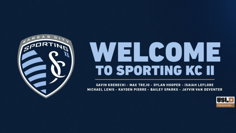 Sporting Kansas City II signs eight prospects to Academy contracts ahead of the 2021 season