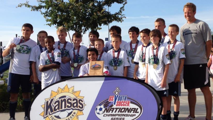 U13's win Kansas State Cup! -