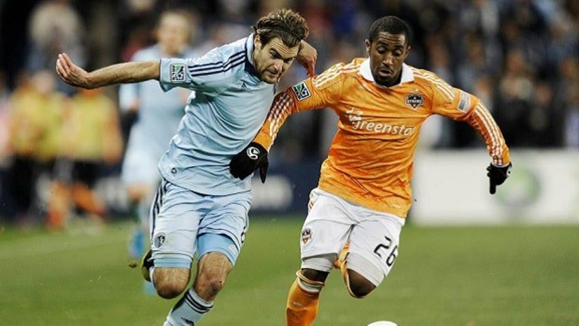 Graham Zusi - Sporting KC v Houston Dynamo - Nov 7, 2012