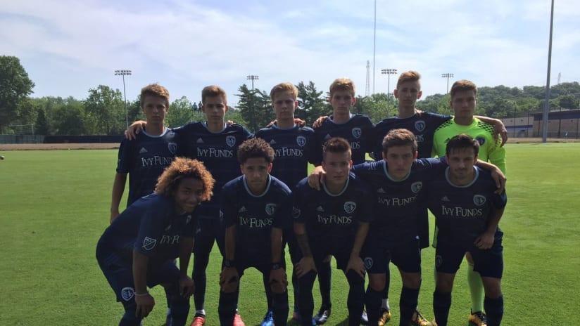 Sporting KC U-18s vs. Real Colorado - June 3, 2017