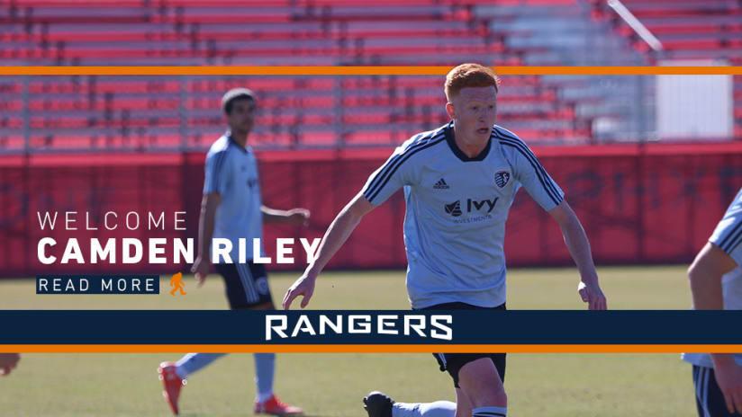 Camden Riley - Swope Park Rangers signing - 2Across DL