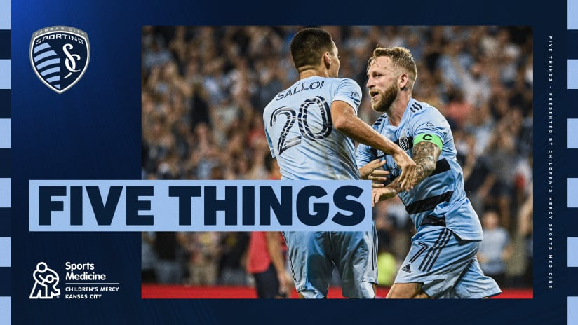Five Things presented by Children's Mercy Sports Medicine Center: #LAFCvSKC | Aug. 4, 2021