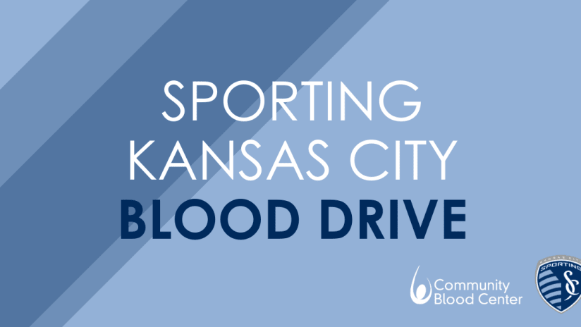 Sporting KC, Community Blood Center to host Children's Mercy Park blood drive on October 6